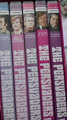 The Persuaders! - Complete Series DVD, 2006, 9-Disc Set Roger Moore Tony Curtis