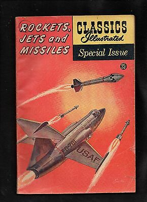 Classics Illustrated Special Issue  #159A  Fair  (Rockets Jets And Missles)
