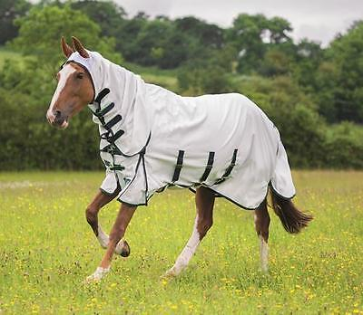 Shires Highlander Plus Sweet Itch Fly Combo Rug , horse, pony Fly rug full neck