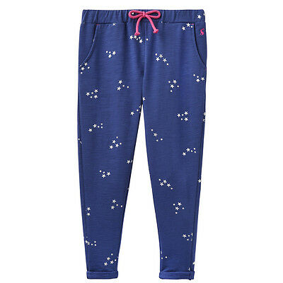 Outlet Sale New Joules Girls Jazz Trousers Kids Bottom in Blue RRP £25-£28 FREE