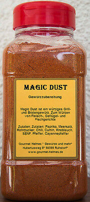 Magic Dust BBQ RUB Grillgewürz 1000ml Dose Inhalt 700g ab Werk Gourmet Heimes®