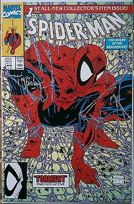 Spider-Man 1 Signature NM/MT * MARVEL 1990 * ~ Signed by Todd McFarlane~