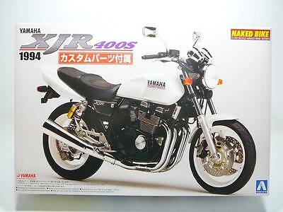 Yamaha XJR400S 1994 w/Custom Parts - AOSHIMA 1/12 Plastic Model Kit #45