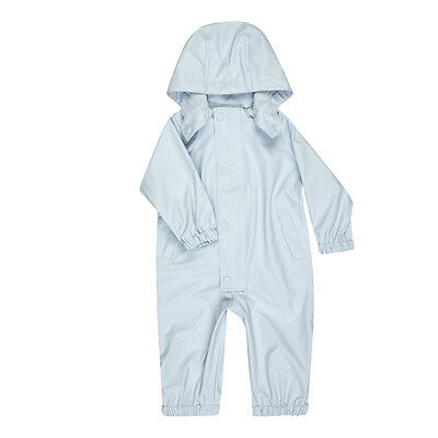 Outlet Designer Mini A Ture Boy's Spring RainSuit Waterproof Blue Size 18M 2Y 3Y
