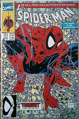 Spider-Man 1 Signature NM/MT * MARVEL 1990 * ~ Signed by Stan Lee~
