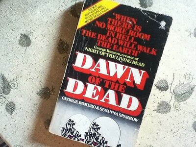 DAWN OF THE DEAD - George Romero & Susanna Sparrow -  Original  1979 Pbk