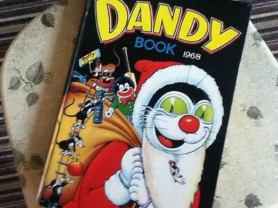 THE DANDY BOOK 1968 - unclipped