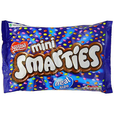 Nestle Mini Smarties Treat Size 260g Approx 18 Cartons Per Bag