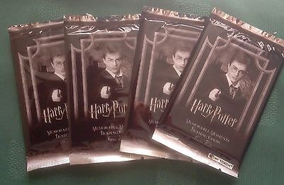 Artbox Harry Potter Memorable Moments 2  -  4 Unopened Sealed Packs