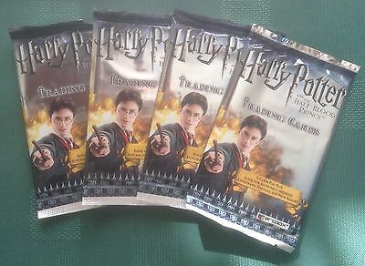Artbox Harry Potter & the Half Blood Prince 4 Unopened Sealed Packs
