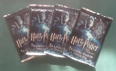Artbox Harry Potter & the Order of the Phoenix Update 4 Unopened Sealed Packs