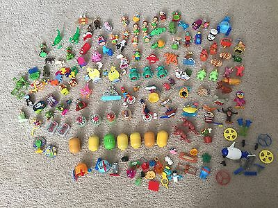 Lot of Over 100 Kindereier Uberaschung Toys, All for one Price! Kinder Eggs