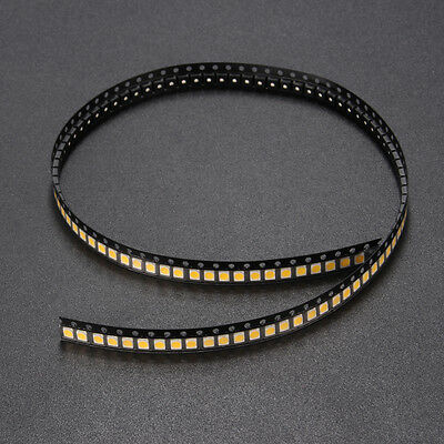 100PCS SMD3528 1210 1W 100LM Warm White LED Backlight DIY Chip Bead For TV Appli