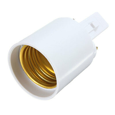 G23 to E27 Base Socket CFL LED Halogen Light Lamp Bulb Adapter Holder Converter