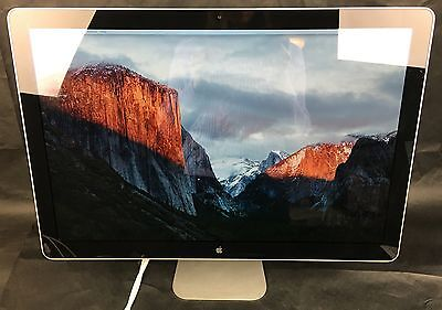 Apple LED Cinema Display 24 inch A1267 MB382LL/A Monitor - FAST SHIPPING!