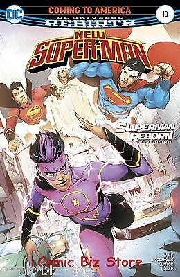 New Super Man #10 (2017) 1St Printing Bagged & Boarded Dc Universe Rebirth