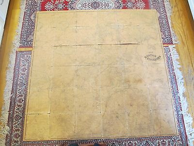 1867 Canvas Wall Map Boston MA Weston Acton Hingham Lincoln Newton Beverly Dover