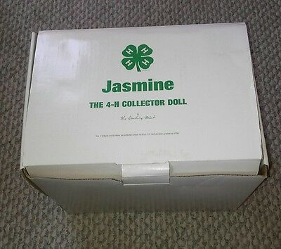 RARE NRFB Jasmine The 4-H Collector Doll Danbury Mint Porcelain Doll