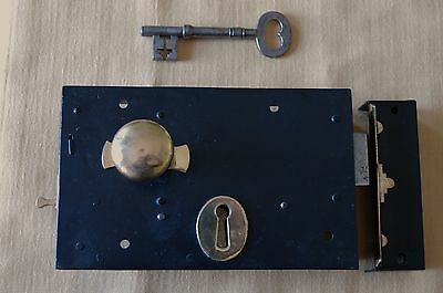 Antique Victorian Front Door Lock c.1840