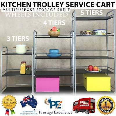Kitchen Island Trolley Bench Multipurpose Service Carts Portable Rolling Storage