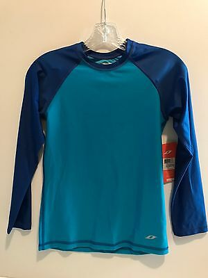 Oxide Rashguard Boys Blue Large (10-12)