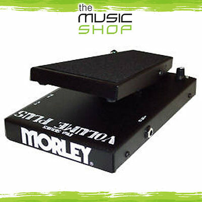 New Morley PVO+ Volume Plus Volume Pedal - Switchable Minimum Volume Control