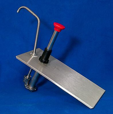 Server #83430 CP-1/3 Condiment Pump, stainless steel, NSF, FMP 217-1067.