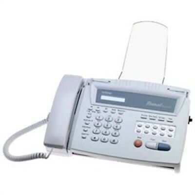 Personal Fax Machine, by Brother International, (FAX275  features easy to read )