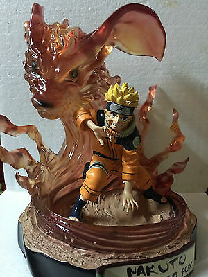 Hokage Ninjia kyuubi childhood Naruto figure High-quality resin statue NEW