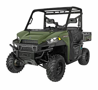 NEW Polaris Ranger Diesel 1000 + free poly roof or poly windscreen.  Save $3,000