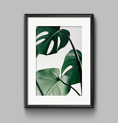 PALM LEAF Print A4 or A3 Wall Art HOME DECOR GREEN LEAVES