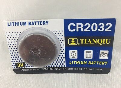 1 CR2032 DL2032 CMOS Lithium 3V NEW Watch Battery Exp 2020 Ships FREE from USA!