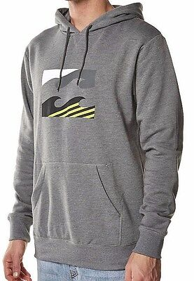 Billabong Wave Icon Hoodie / Hooded Pullover Jumper - Size L. NWT, RRP $69.99.