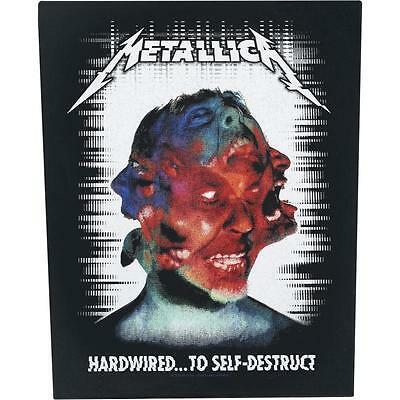 Metallica hardwired  Back Patch XLG free worldwide shipping