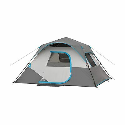 """Ozark Trail 6 Person Instant Cabin Tent Family Camping Hiking Hunting 10'x9'x66"""""""