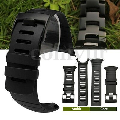 Watch Band Strap Rubber Nylon Steel Replacement For SUUNTO CORE / AMBIT Series