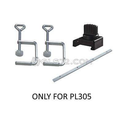 KIT ACCESSORIES GUIDE TRACK PLUNGE SAW SCHEPPACH PL305 CONNECTOR , 2 x CLAMPS