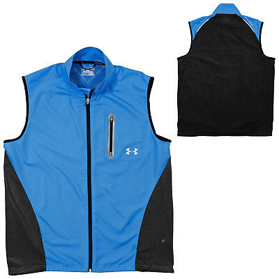Under Armour Mens Armour Vent Running Vest Small - New Top Gilet Bodywarmer