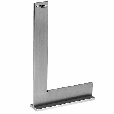 Facom Flanged Stainless Steel Precision Square 300mm