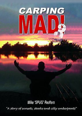 Carping Mad 3 (brand new and signed) FUNNY CARP FISHING BOOK. FREE POSTAGE