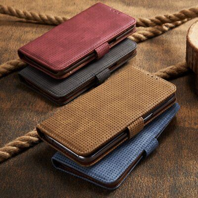 Magnetic Leather Flip Card Wallet Stand Cover Case For Samsung Galaxy A5 2017