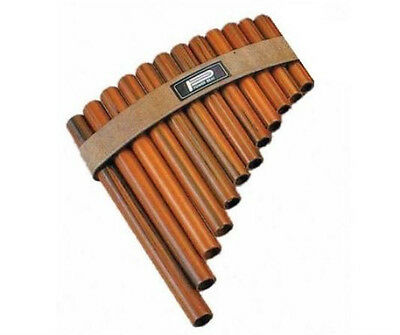 PAN FLUTE 12 Note Modern version of an ancient traditional instrument. Pipes