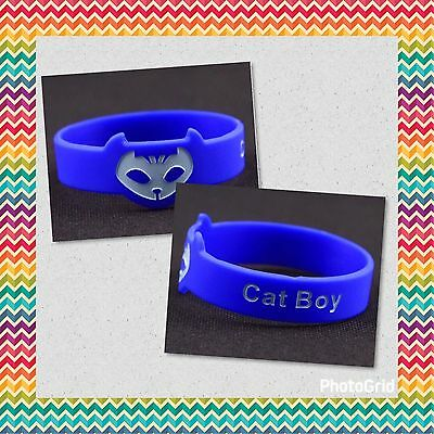 Pj Masks Bracciali Braccialetto Gattoboy Connor Super Pigiamini Supereroi Gatto