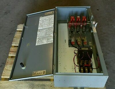 Square D Well Guard Size 4 Combo Motor Starter 480v Nema 3R Good Contacts 8536