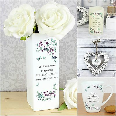 Personalised Forget Me Not Birthday Gifts for Mothers Mum Nanna Gran Sisters