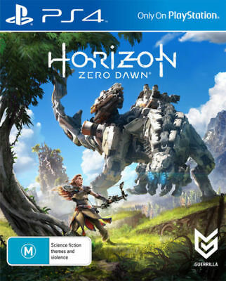 Horizon Zero Dawn Game PS4 Brand NEW *DISPATCHED FROM BRISBANE*