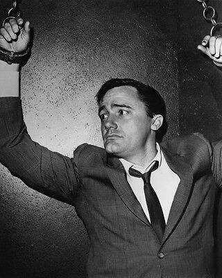 The Man from U.N.C.L.E. Robert Vaughn chained to wall 8x10 Photo