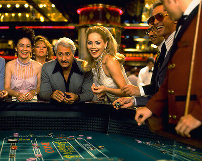 Casino Sharon Stone at craps table Las Vegas 8x10 Photo