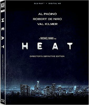 HEAT (Director's Definitive Edition) - BLU RAY - Region free - Sealed