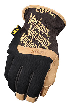Brand New Mechanix Wear CG Utility Leather Work Gloves Commercial Grade Large